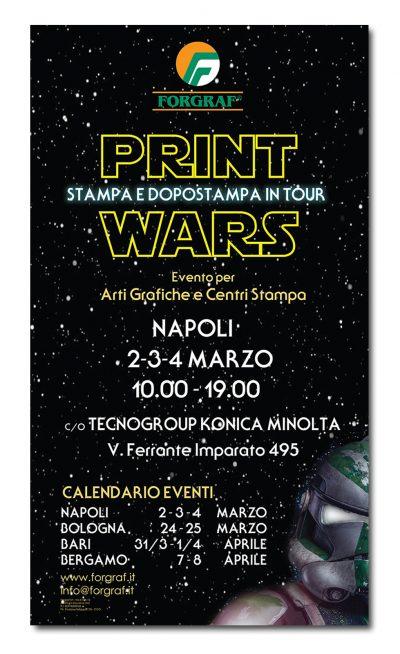 Forgraf - Print Wars - Open House - NAPOLI